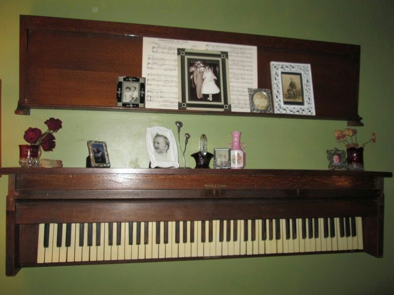 Wall decor made from old piano & lid | Play it Again in 2018 ...