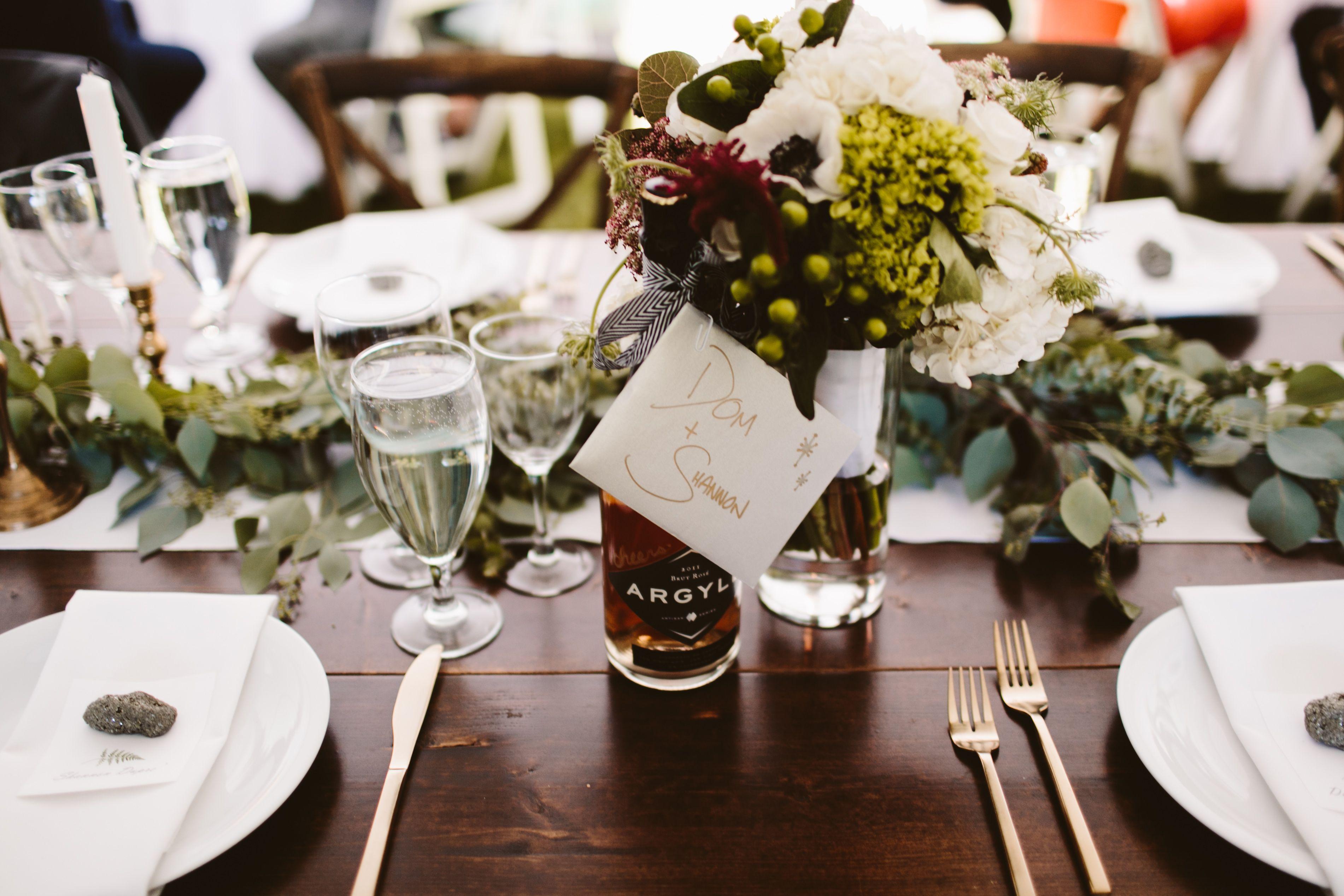 Gold flatware 2017 Wedding Trends photo by Allison Harp ...