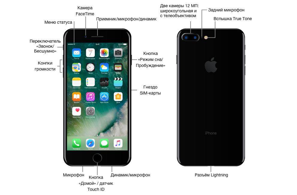 Инструкция по эксплуатации айфон