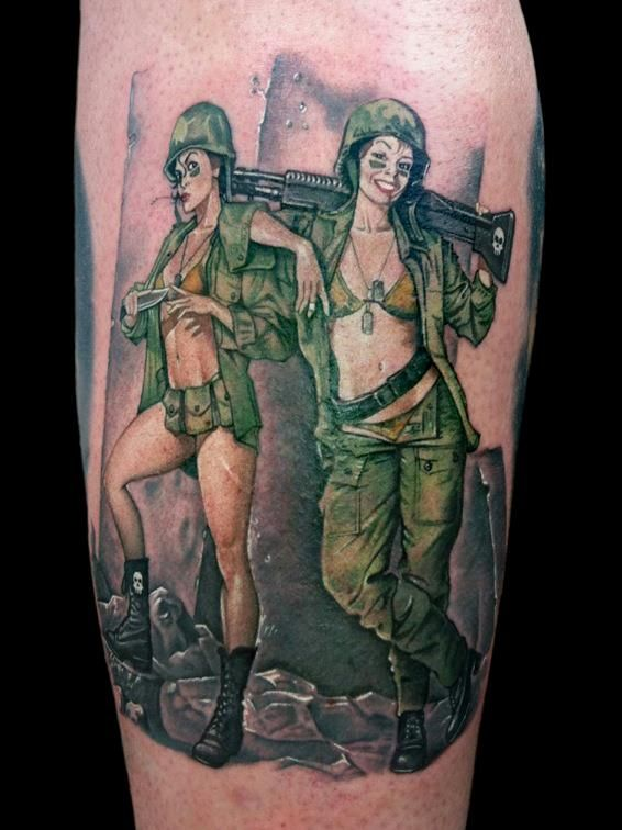 Pin By Mike Kraut On Ink Tattoos Girl Tattoos Pin Up Girl Tattoo