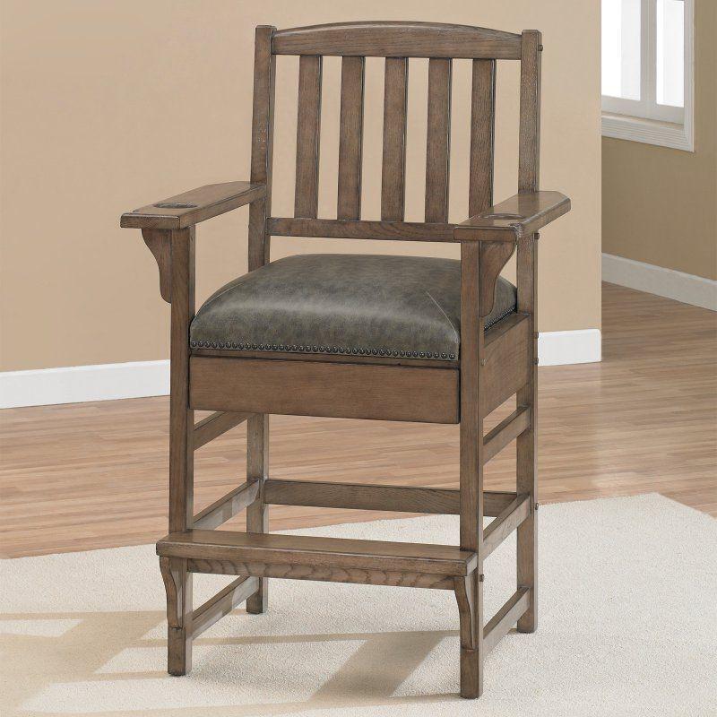 AHB King Chair Bar Stool   Glacier Grey   100610GLA