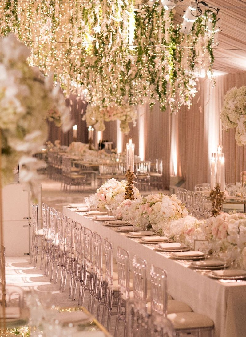 White And Gold Wedding Decoration Best Of Reception Decor S Floral Chandeliers In Blush Tent Dekorasi Perkawinan Dekorasi Resepsi Pernikahan Resepsi