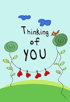 Thinking Of You Love Card Free Greetings Island Thinking Of You Cards Romantic Love Messages