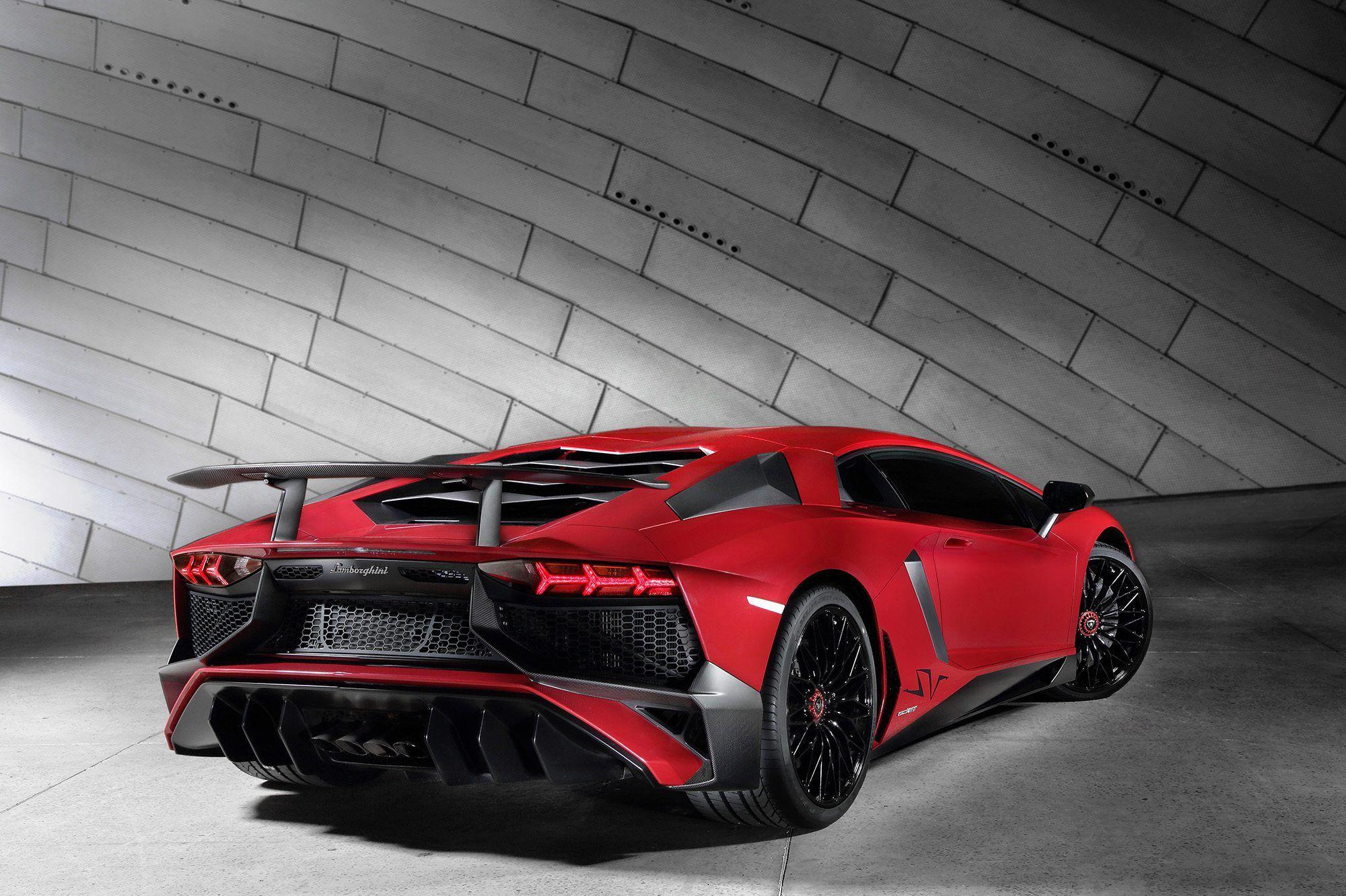Lamborghini Aventador LP 750 4 Superveloce   A quota 750 CV Al