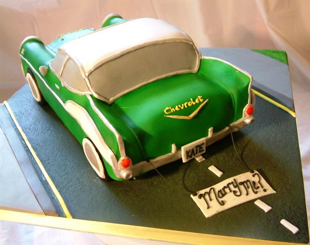 Best Car Cakes Images On Pinterest Car Cakes Vintage Cars