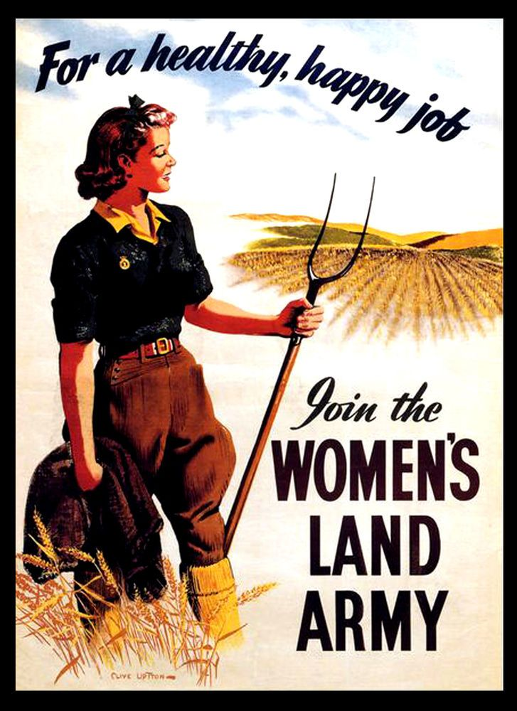 War Gardens For Victory Vintage #16 A3 Size Poster Print Art Deco