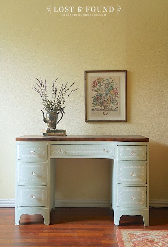 Vanity Makeover using Fusion Mineral Paint, Custom mix ...
