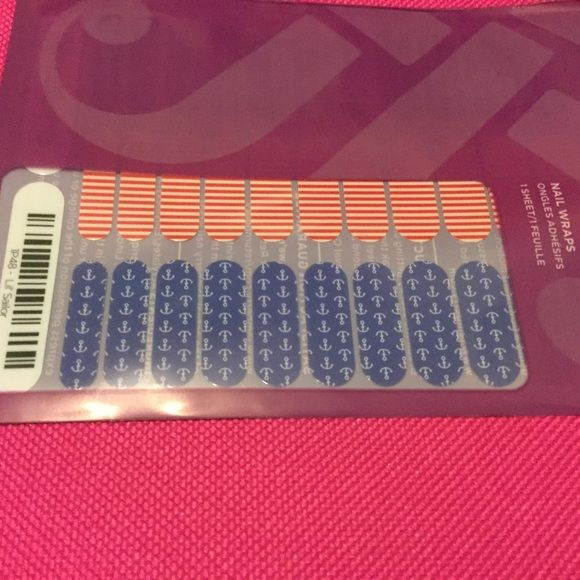 Jamberry JRS lil sailor nail wraps Jamberry makes it easy