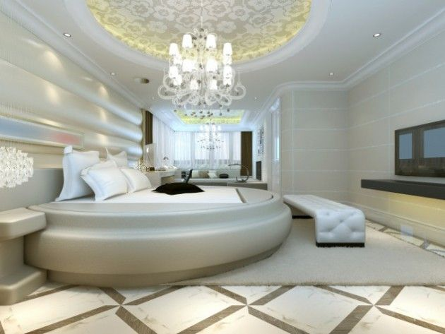 19 Luxury Round Master Bedroom Designs That Everyone Need To See Luxury Bedroom Master Glamourous Bedroom Modern Master Bedroom