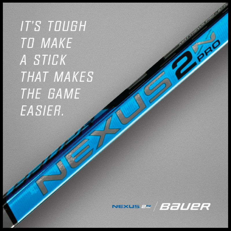 Bauer Sticks Help Improve Your Game And Make The Game Easier For You Hockey Gear Hockey Stick Hockey Life