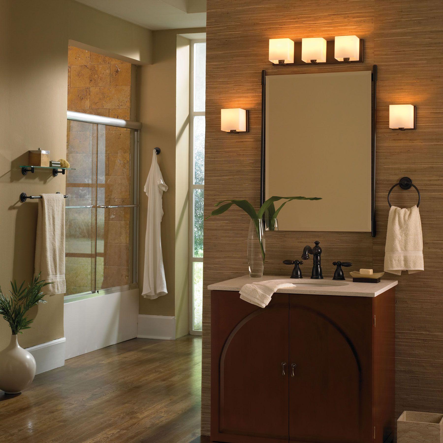 Houzz Bathroom Lighting Fixtures: Borg Vanity Wall Sconce