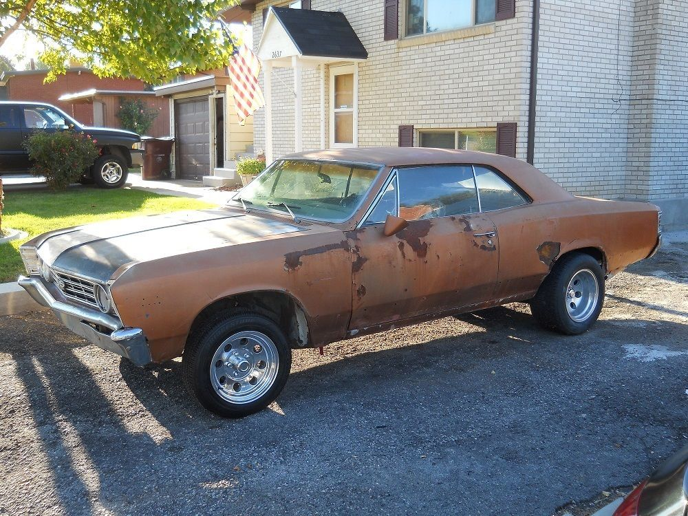 1967 Chevrolet Chevelle 396 Sport Coupe SS Clone Project | Project ...
