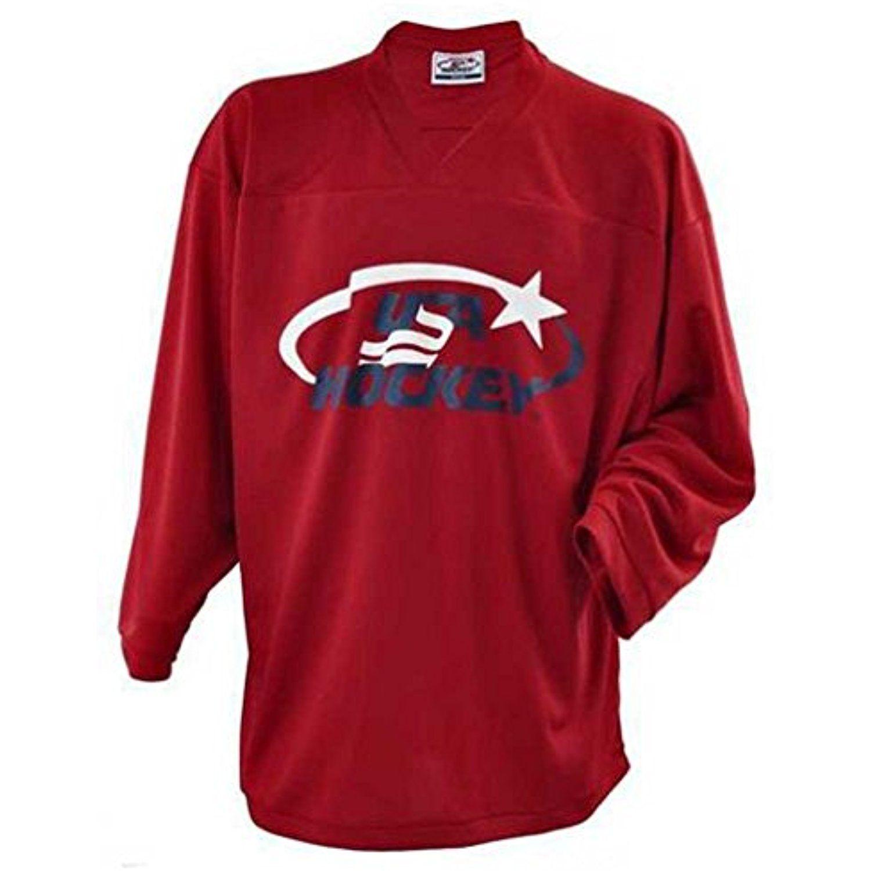 Usa Hockey Adult Practice Ice Hockey Jersey Mid Weight
