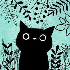 Photo of Ilustraciones de cortes Ilustraciones de gatos lindos y no gatos de …