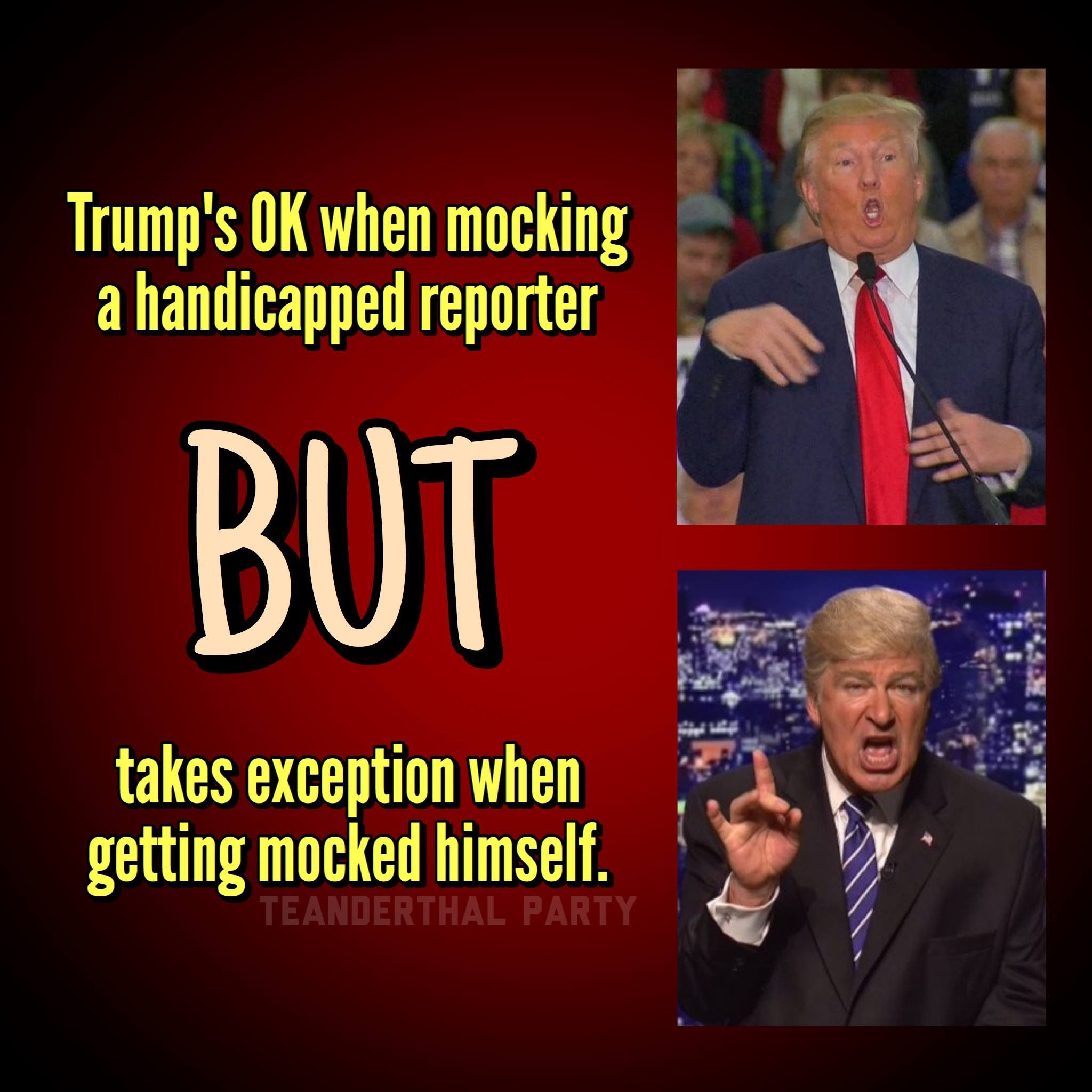 That's cuz Chump is a cowardly bully. The TrumpDonald ...