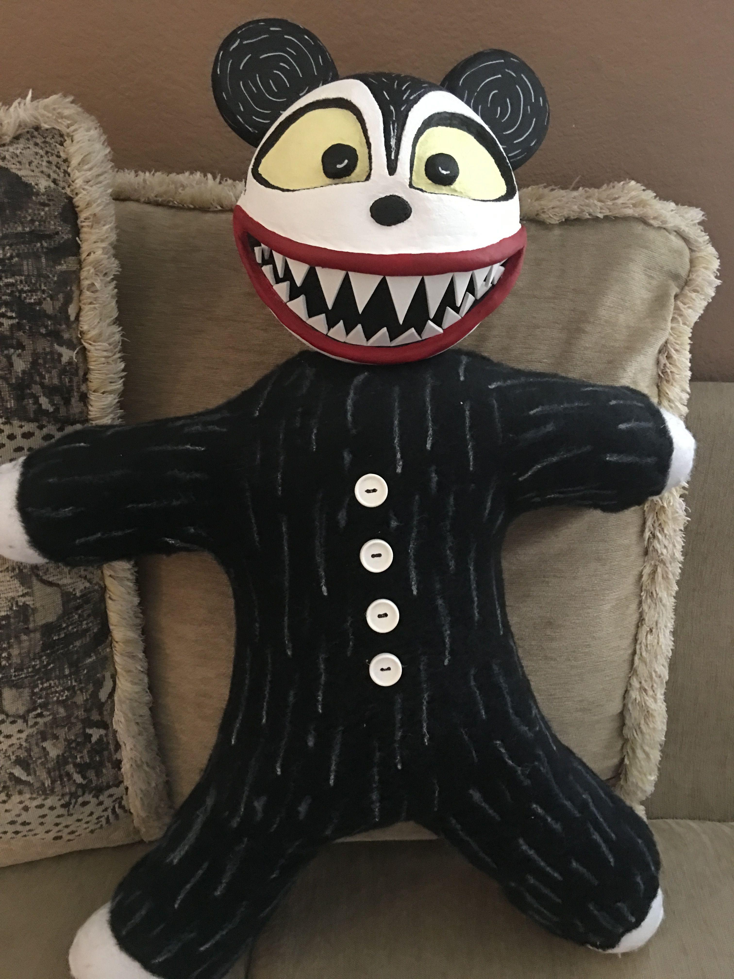 My DIY Vampire Teddy from The Nightmare Before Christmas