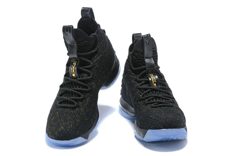 cheap for discount 6d671 c75af Cheapest And Latest New Arrival March Nike Cheap LeBron 15 XV Basketball  Shoe Black Gold