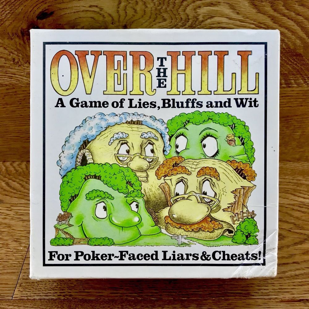 Over The Hill A Game Of Lies Bluffs & Wit lie cheats party