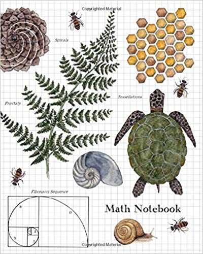 math notebook  1  2 inch squares graph paper composition