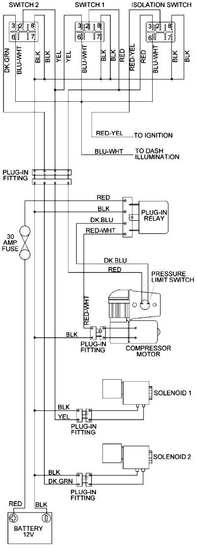 Arb Air Locker Wiring Diagrams Diagram Lockers Air