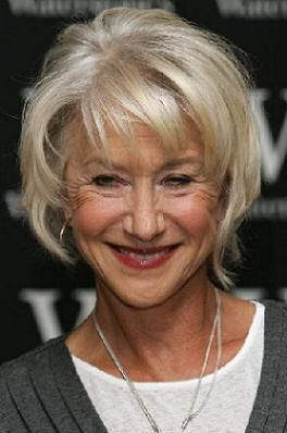 Pretty Black La S In Their S Hairstyles For Women Over Age  Helen Mirren No