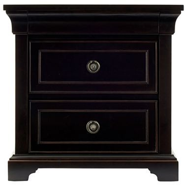 Providence Nightstand in Antique Espresso - jcpenney | L & C | Pinterest