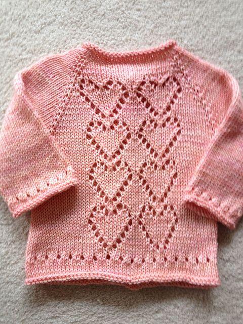Ravelry: yarnloverleslie\'s Pink Hearts | Bebê | Pinterest ...