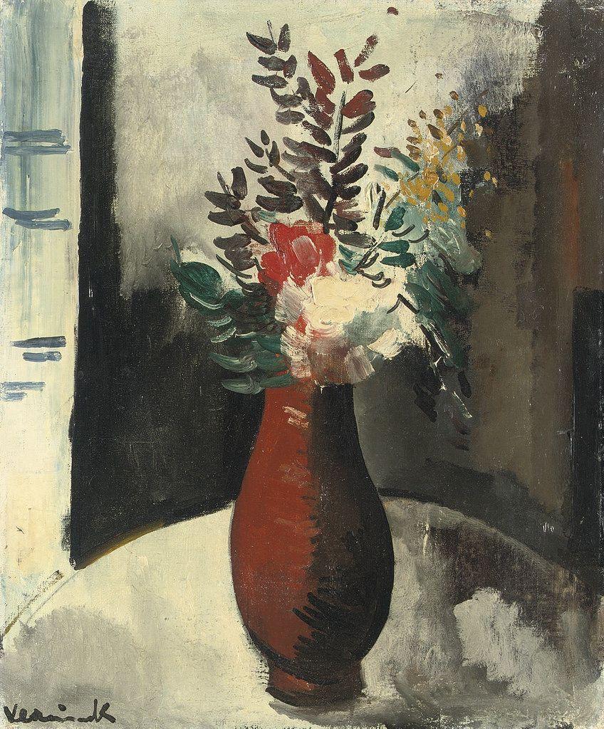 Vase with Flowers 13. Maurice de Vlaminck