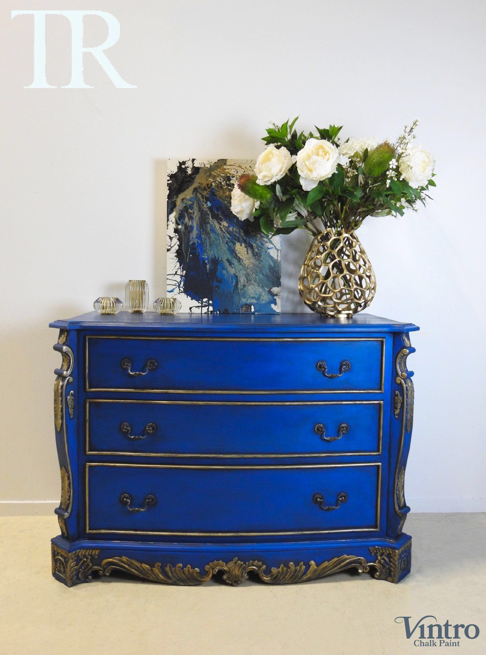 Zuri French Style Set Of Drawers In