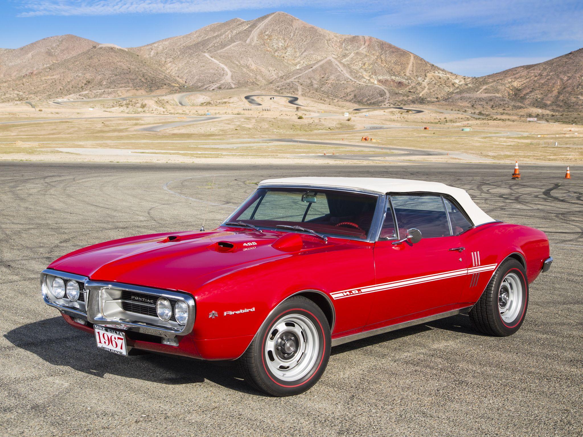 1967 pontiac firebird 400 h o convertible