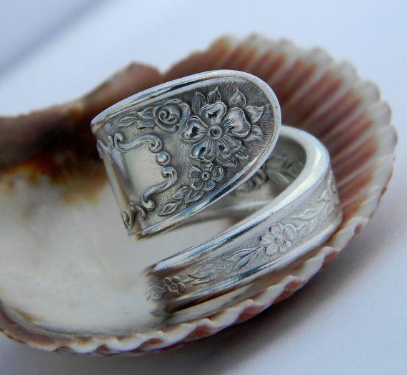 Vintage spoon ring