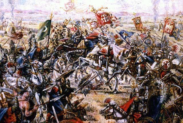 28 juin 1389 Bataille de Kosovo Polié. La Serbie devient vassal de l'Empire ottoman https://t.co/4e2ERia6qN https://t.co/XQUZioGLJT