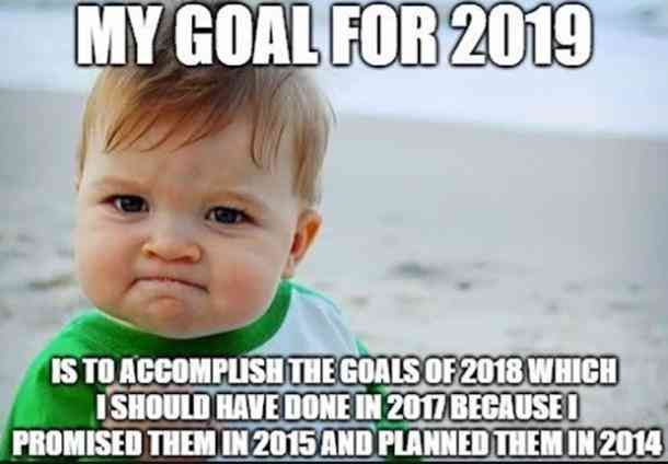 Yeah Right Funny New Years Memes Funny New Year Funny Goodbye
