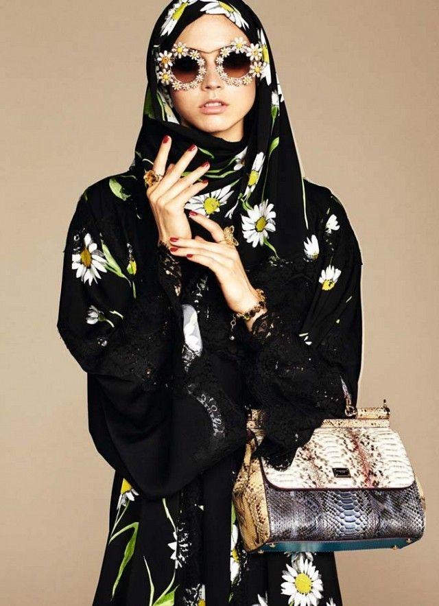 Dolce & Gabbana Hijab and Abaya Collection