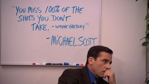 Michael Scott Annexes The Thoughts Of Wayne Gretzky Charlies