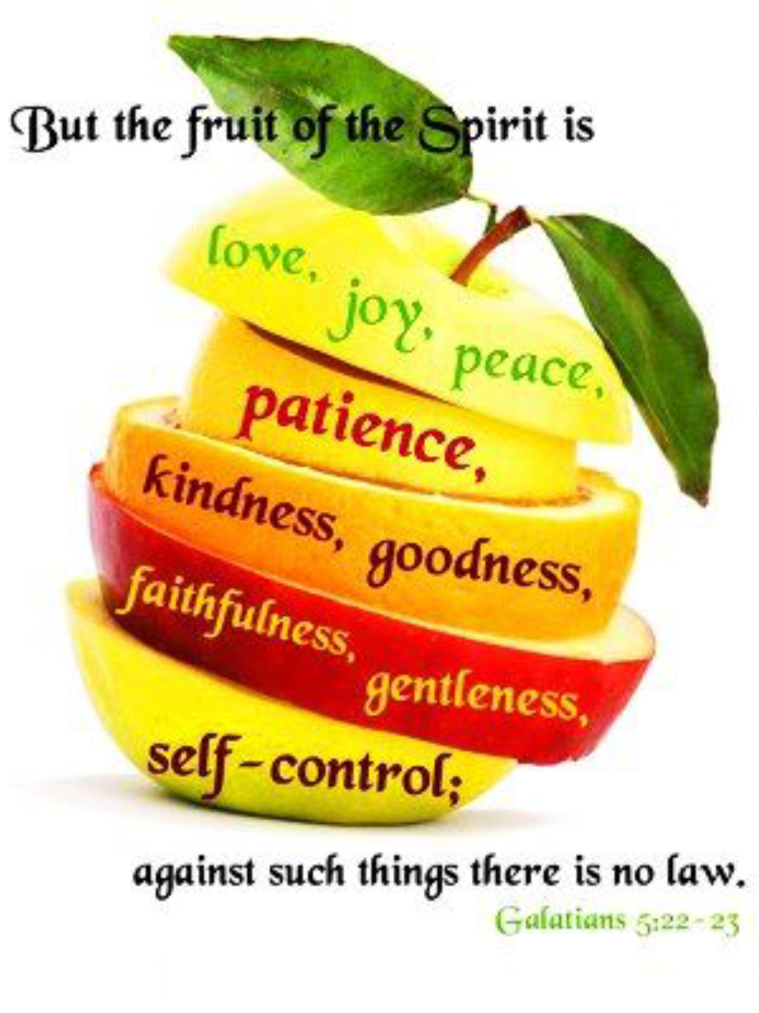 Galatians 5 22 23 Kjv Bearing Fruits Worthy Of Repentance Implies A Process Just As A Tree Does Not Produce Fruit Overnig Fruit Of The Spirit Fruit Spirit