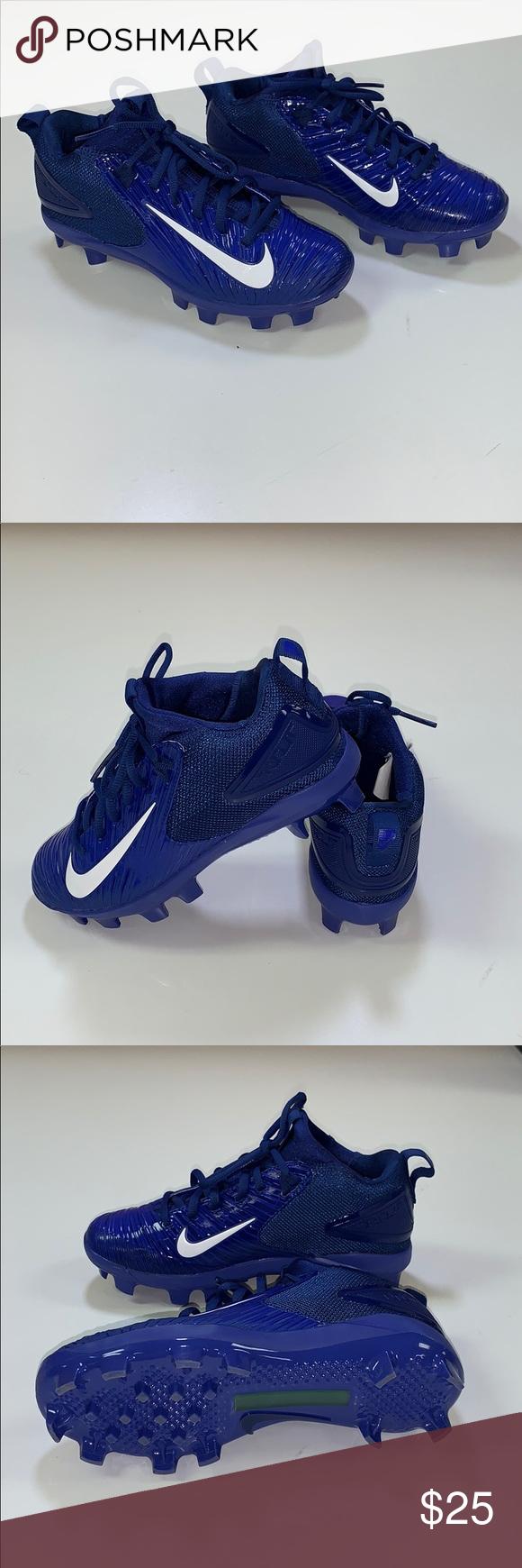 blue nike youth baseball cleats