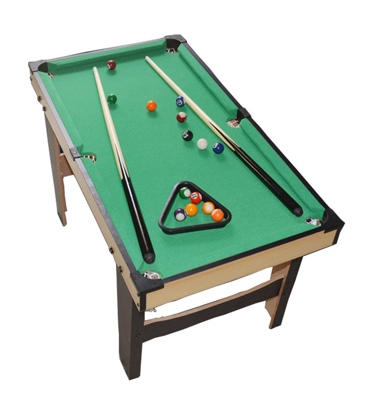 WGW Small Tabletop Ball Billiards Home Billiard Game Sets Pool Table - How wide is a pool table