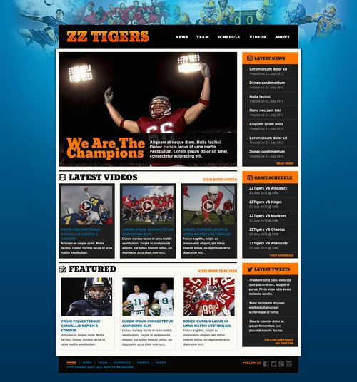 Are You Looking For A Ready Steady Go Type Sports Html Website Templates Then Just Rush Our These Outstanding Free Premium