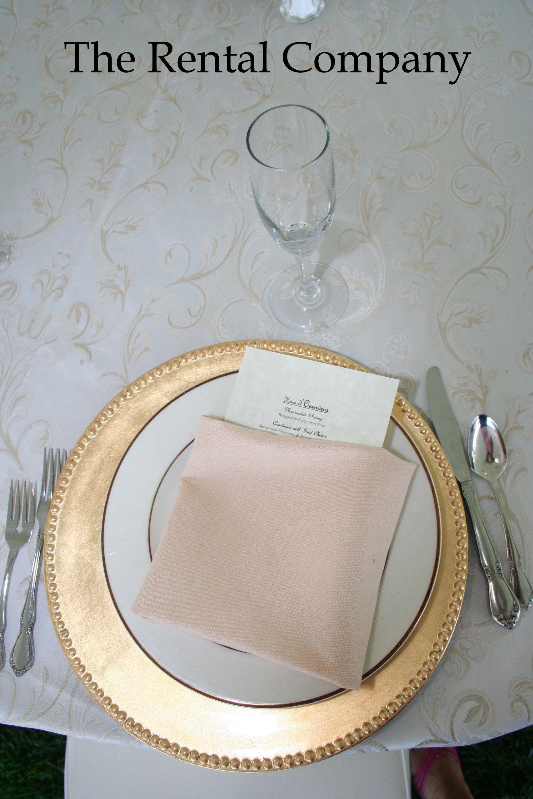 Pocket Napkin Fold For Menu Great For Wedding Receptions Napkin