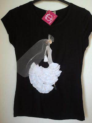6a899297e camisetas pintadas a mano flamencas - Buscar con Google