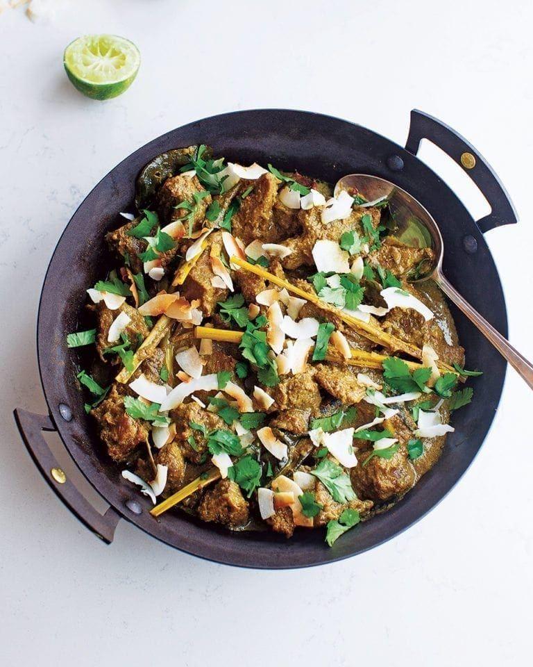 Beef Rendang Recipe Curry Recipes Beef Rendang Recipe Food