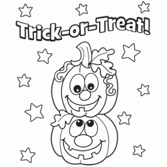 Pumpkins Coloring Page | Halloween Ideas | Pinterest | Oriental ...