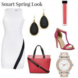 Spring has Sprung - Smart Spring Look. Perfect for the Office or a romantic date night