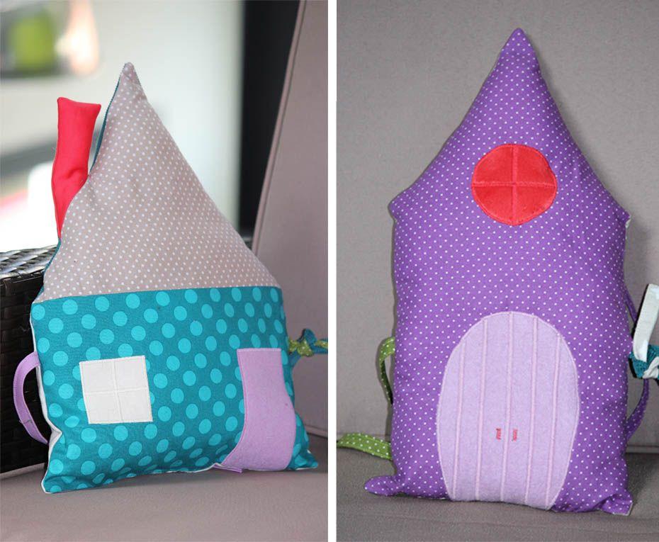 Tour de lit Maisons | Pillows, Blanket, Handmade