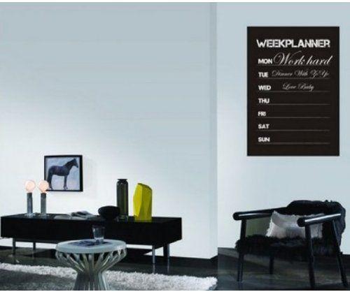 Amazon.com - Weekly Planner Calendar MEMO Chalkboard Blackboard ...