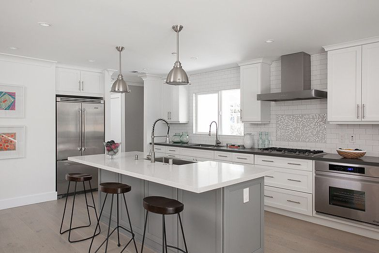 Newport Beach Ca Home Kitchens Kitchen Prairie Home