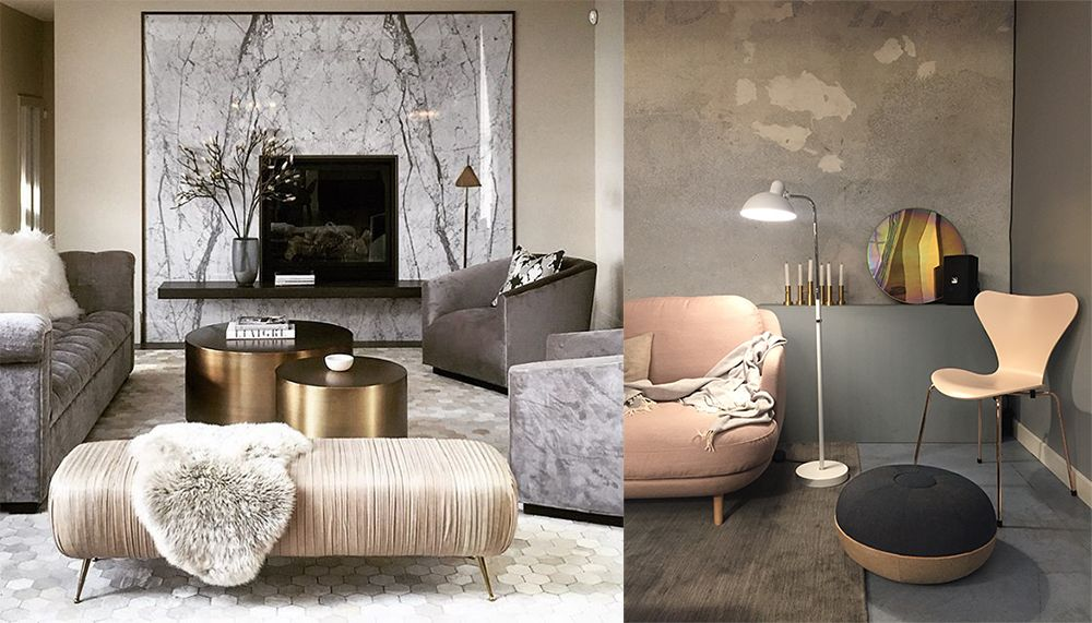 Living room furniture 2018: Trends, colors, photos and tips https://