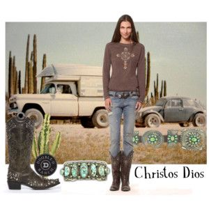 """""""Christos Dios Top"""" by Double D Ranch on Polyvore"""