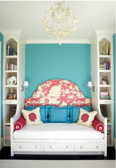 Bed shelf combo smart for small spaces i want something like this done for my room except - Idee per camera ragazza ...